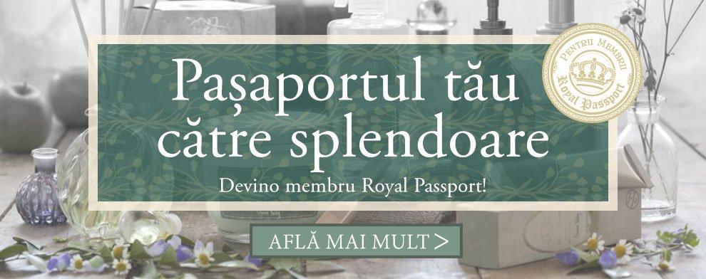Card de fidelitate Royal Passport: