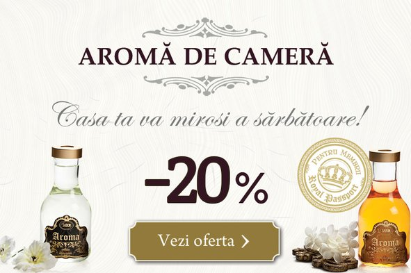 Arome de cameră: -20%