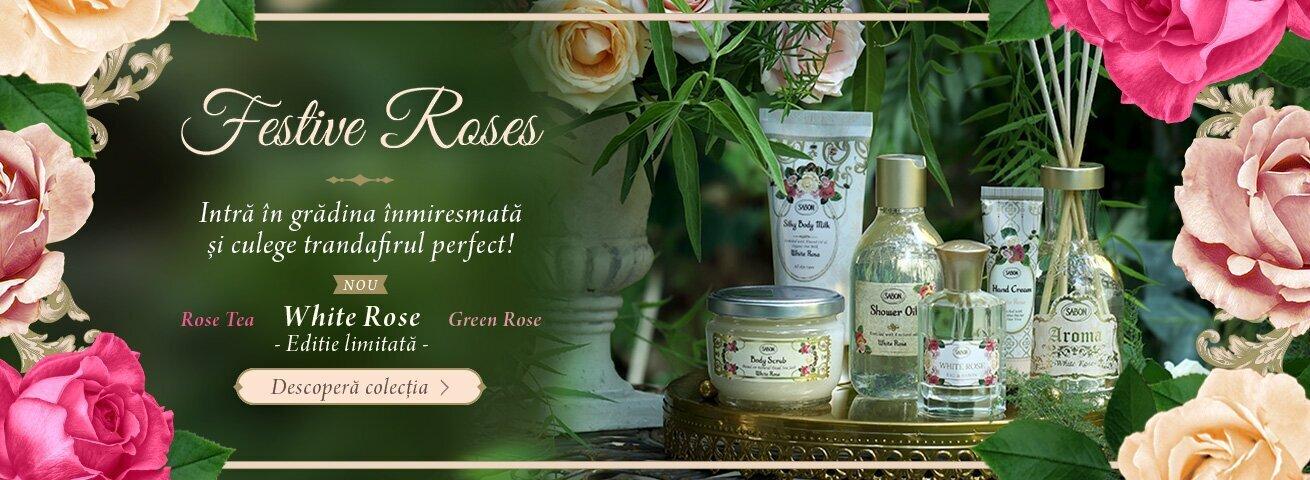 Festive Roses: