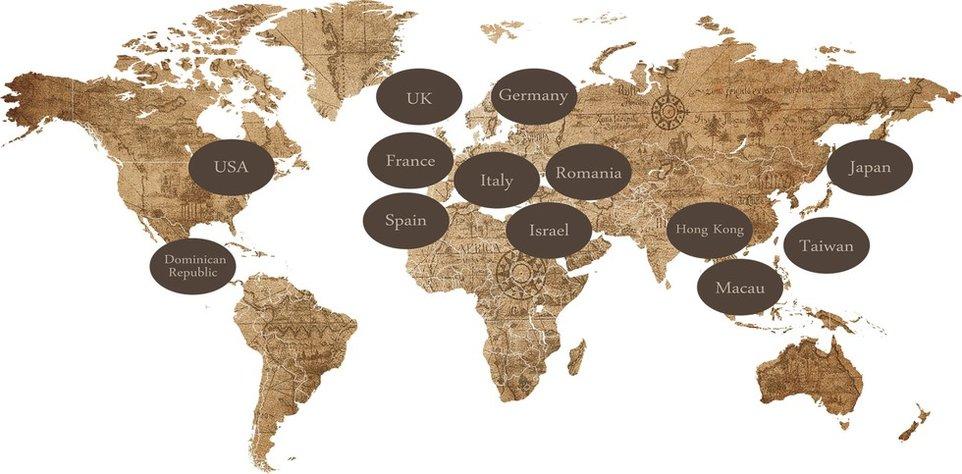 Stores Worldwide