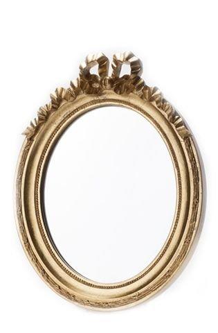 Mirror Oval Golden