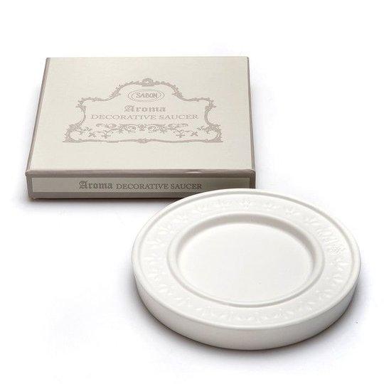 Aroma Holder White Saucer