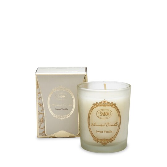 Small scented candle Vanilla