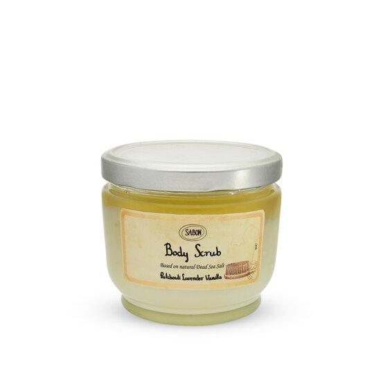 Large Body Scrub Patchouli - Lavender - Vanilla