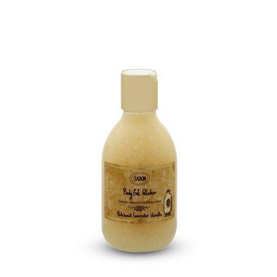 Săpun lichid exfoliant PET Paciulie - Lavandă - Vanilie