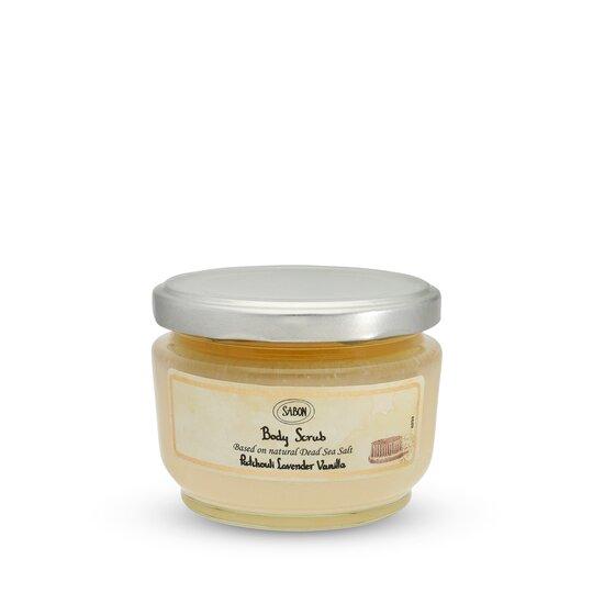 Small Body Scrub Patchouli - Lavender - Vanilla