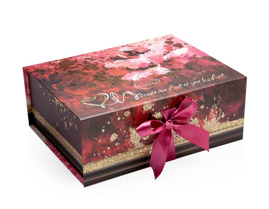 Magnetic Box Rose Splash - L