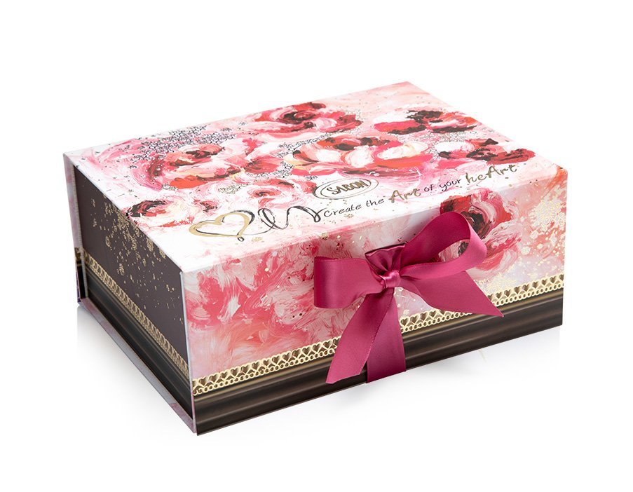Magnetic Box Rose Splash - M
