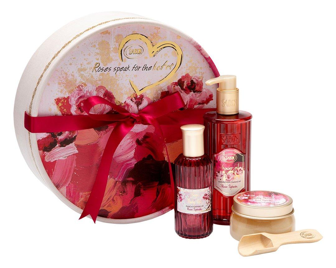 Set cadou Roses speak for the heart