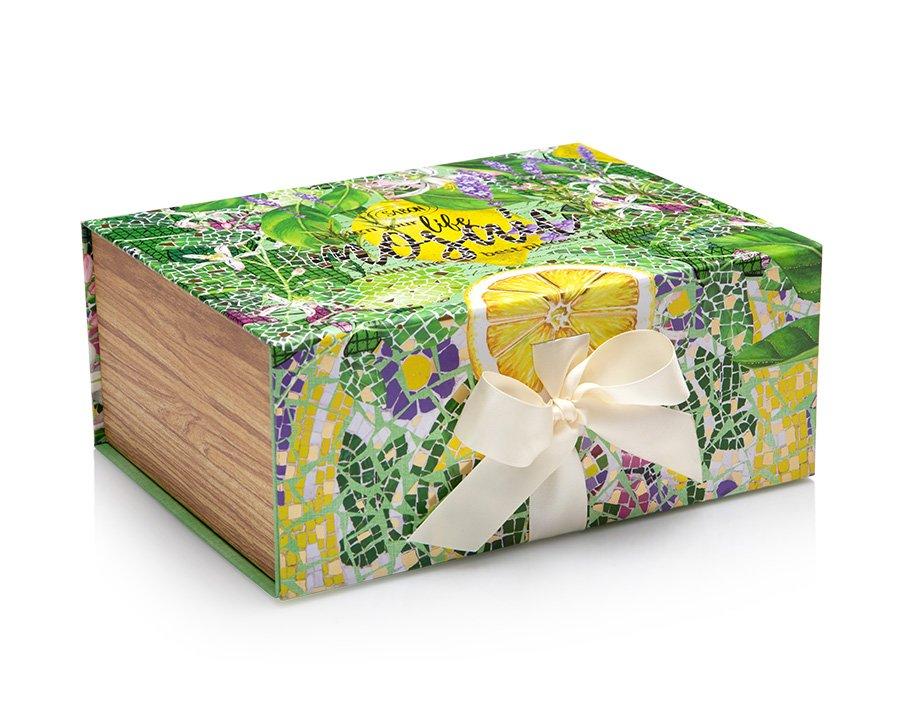 Magnetic Box Limy Lavender - L