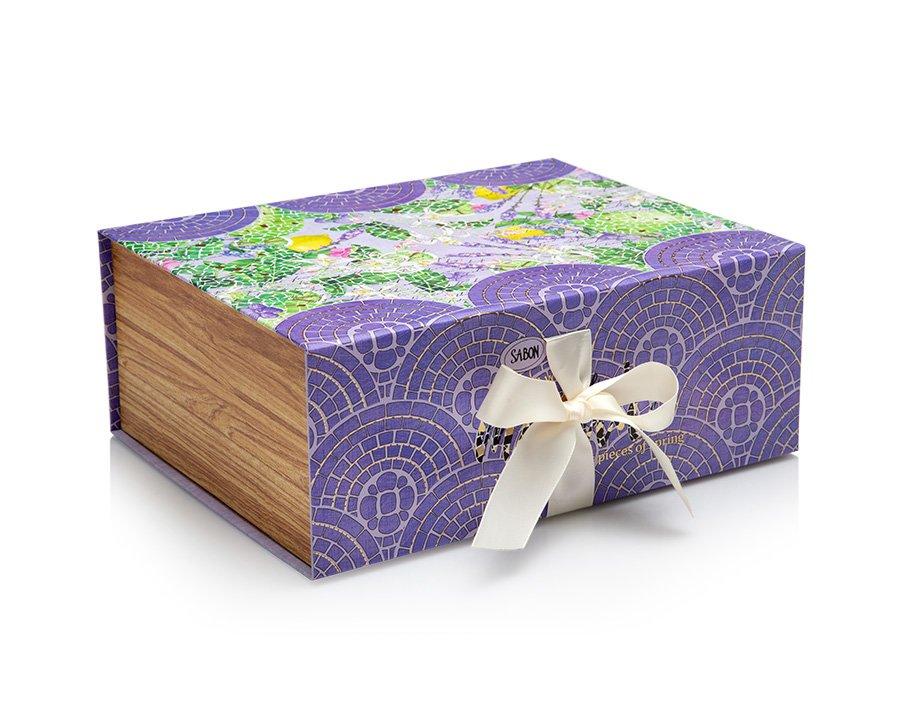 Magnetic Box Limy Lavender - M