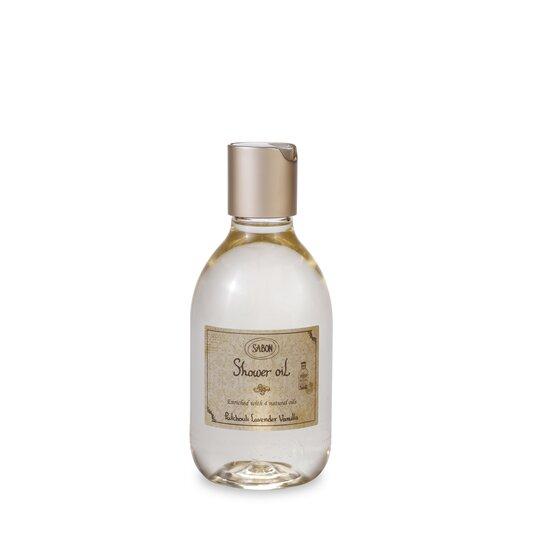 Shower Oil PET Patchouli - Lavender - Vanilla