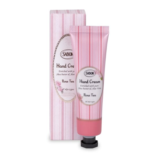 Hand Cream - Tube Rose Tea