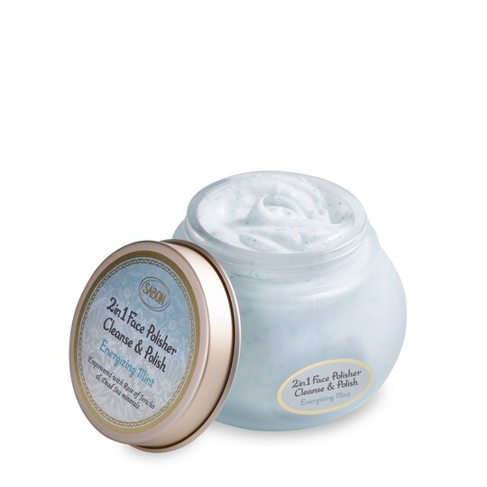 Face polisher 2 in 1 Mint