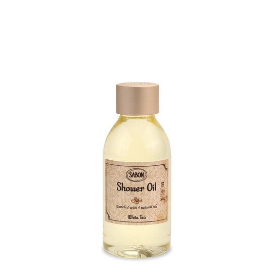 Mini Shower Oil PET White Tea
