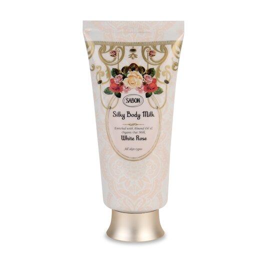 Silky Body Milk - Tube White Rose
