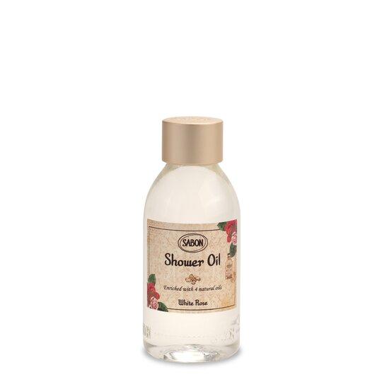 Mini Shower Oil PET White Rose