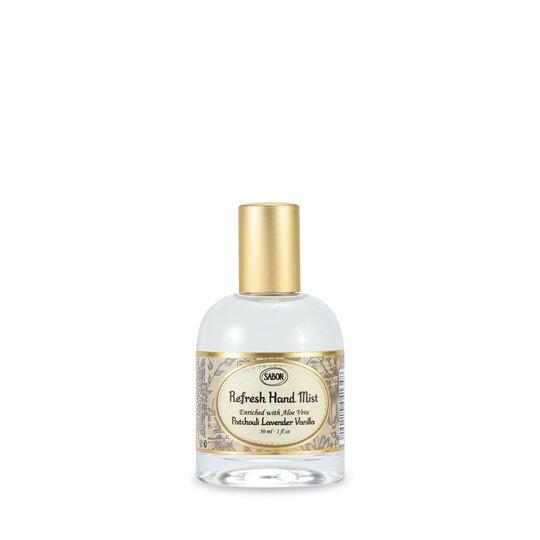 Spray revitalizant pentru mâini Paciulie - Lavandă - Vanilie