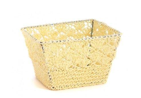 Basket Crochet S - Beige