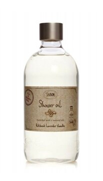 Shower Oil PET Patchouli - Lavender - Vanilla