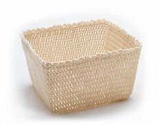 Decorative Objects Crochet Basket Cream - L