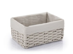 Scented Candles Basket Lining Dark Grey - S