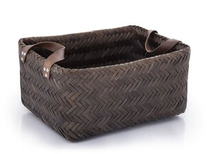 Decorative Objects Basket Bamboo Dark brown - L
