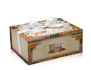 Cutii pentru cadouri Cutie cu magnet Be always in Bloom - M