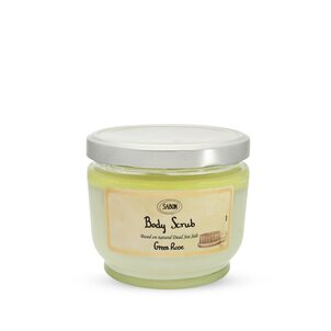 Large Body Scrub Green Rose