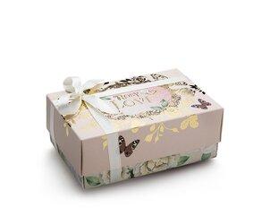Cutii pentru cadouri Cutie dreptunghiulară Rosy Love - XS
