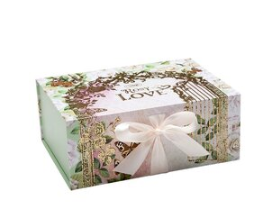 Cutii pentru cadouri Cutie cu magnet Rosy Love - M