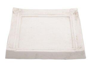 Obiecte decorative Suport lumânări Pătrat - Ramă albă (Mare)