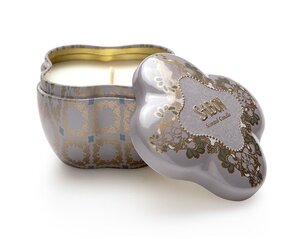 Candle in small tin box Patchouli-Lavender-Vanilla
