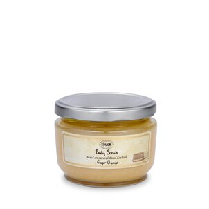 Body Lotions Small Body Scrub Ginger - Orange