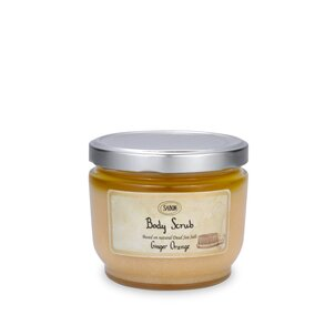 Body Oil Large Body Scrub Ginger - Orange
