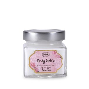 Body Lotions Refreshing Cooling Gel Rose Tea