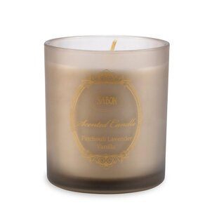 Home Fragrances Large Candle in Glass Patchouli-Lavender-Vanilla