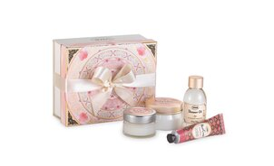 Gift Set Green Rose - S