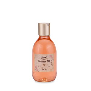 Bath Salt Shower Oil PET Rose Tea