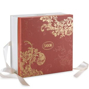 Spring Gifts Logo Box Coral Red - L