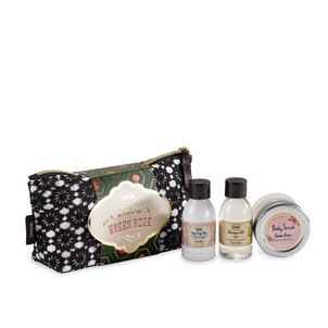 Travel size cosmetics Gift Set A Tale of Green Rose
