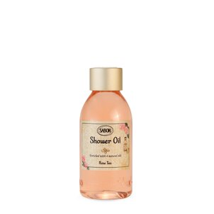Cosmetice travel size Mini Ulei de duş PET Rose Tea