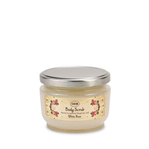 Small Body Scrub White Rose