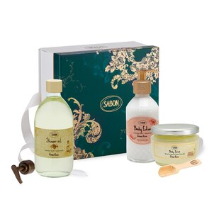 Spring Gifts Gift Set Body Care Green Rose - L