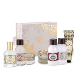 Set cadou Mini Travel Paciulie - Lavandă - Vanilie