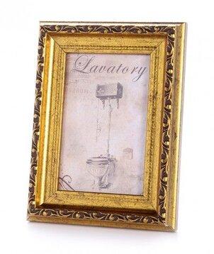 Obiecte decorative Poză decorativă Aurie - Toilette Mică