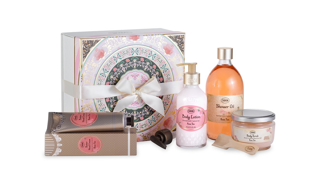 Gift Set Green Rose - M