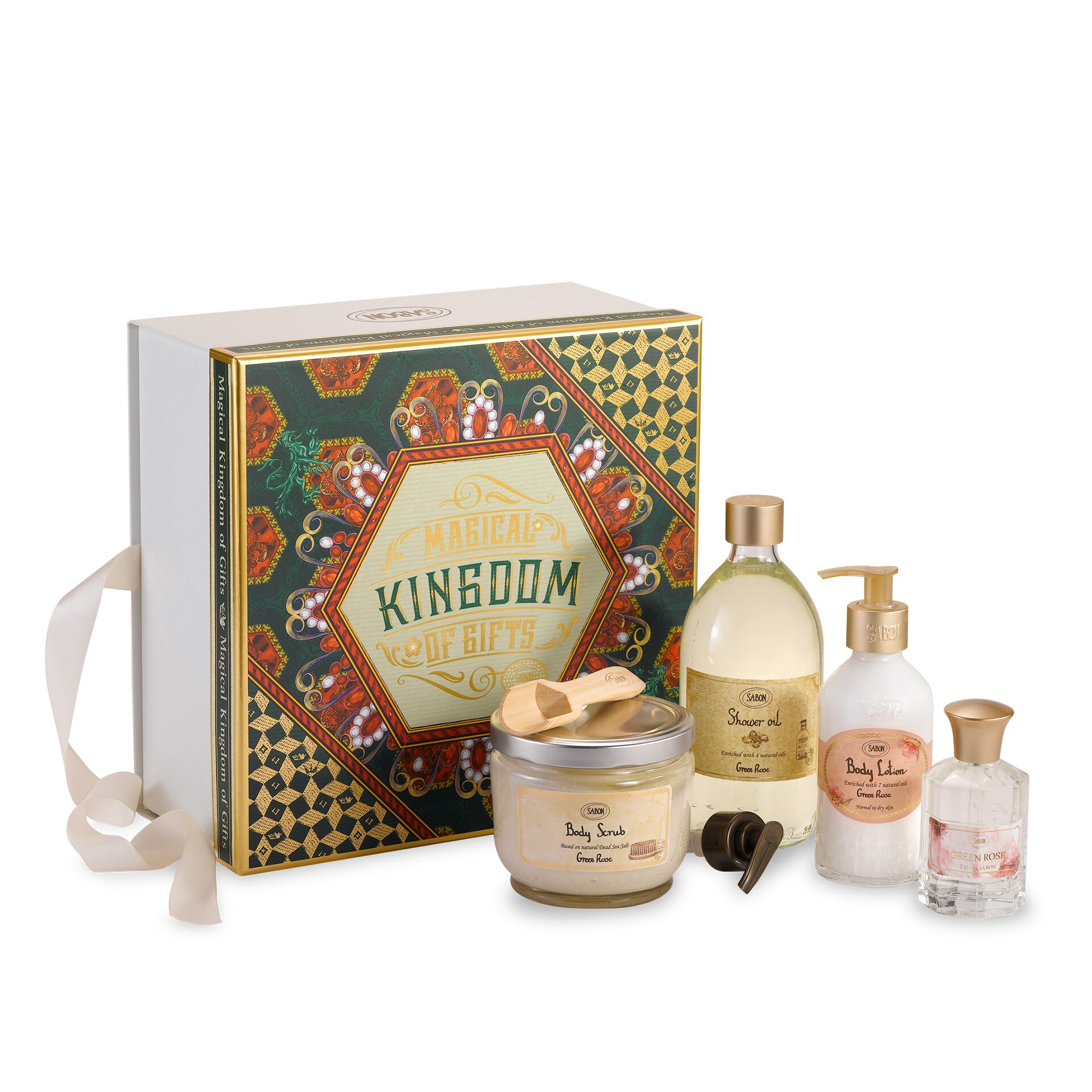 Gift Set Premium - Green Rose - 1