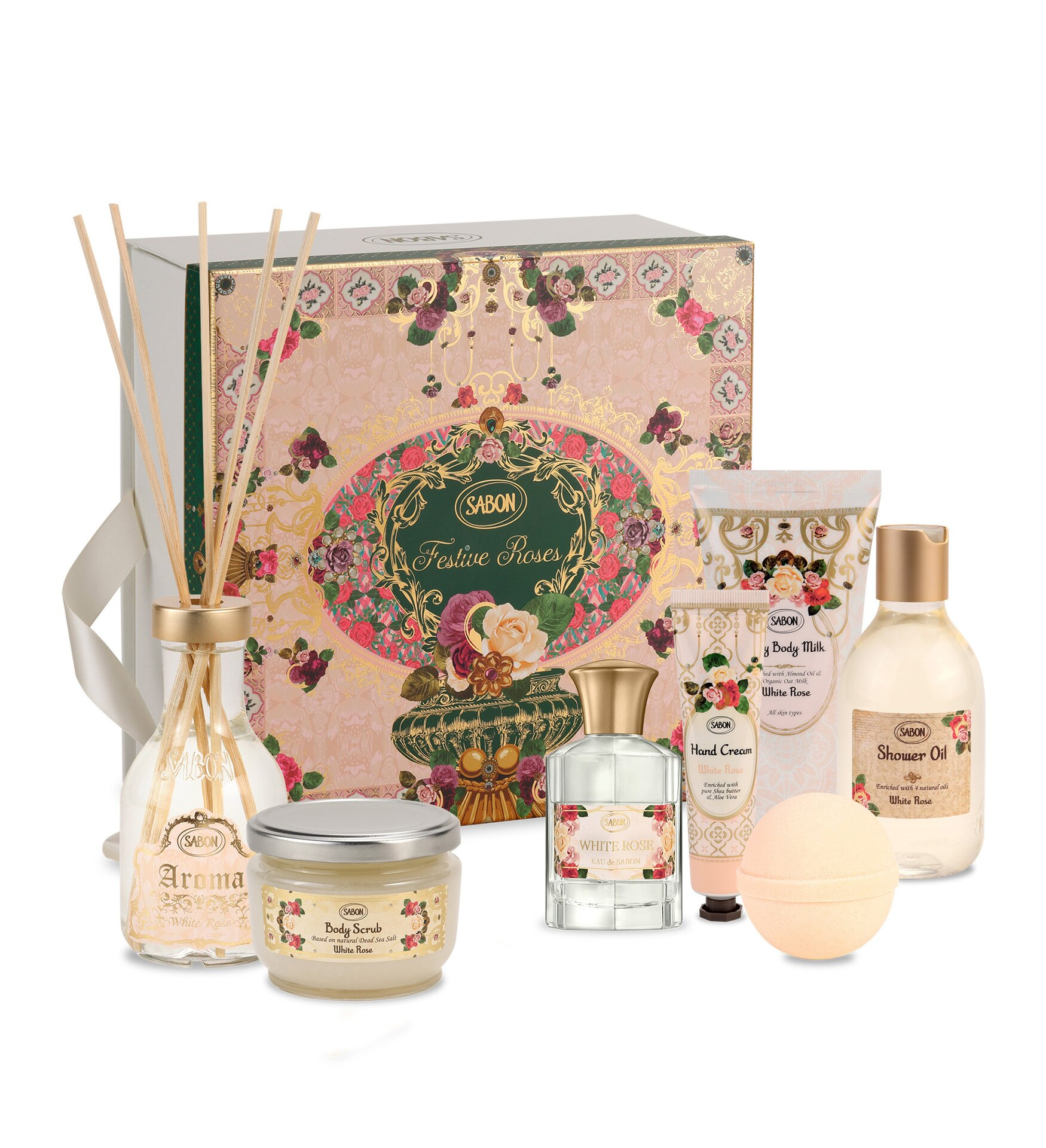 Gift Set Premium - White Rose 2