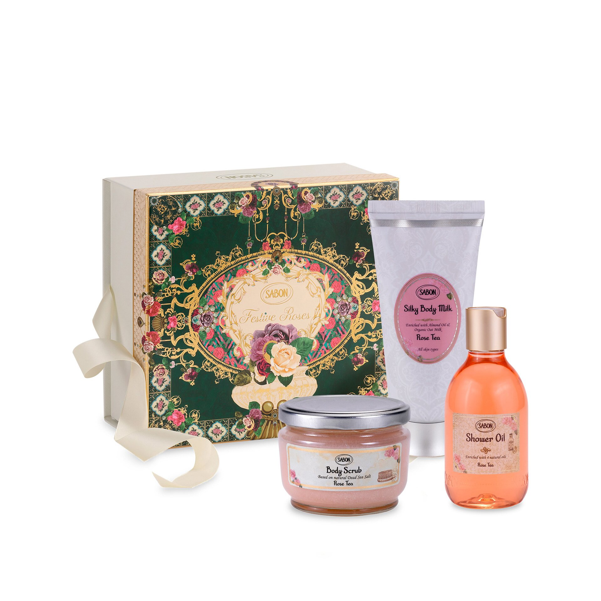Gift Set Inter - Rose Tea 2